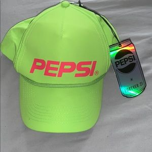 Pepsi X Forever 21 Neon Green Hat
